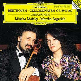 Ludwig van Beethoven, Cellosonaten op. 69 und op. 102, Variationen WoO 45, 00028943751421