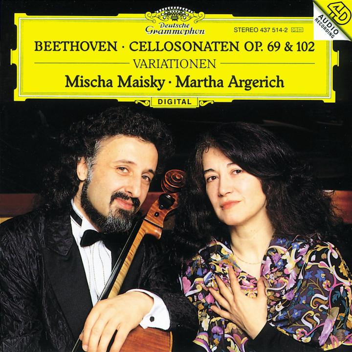 Cellosonaten op. 69 und op. 102; Variationen WoO 45 0028943751421