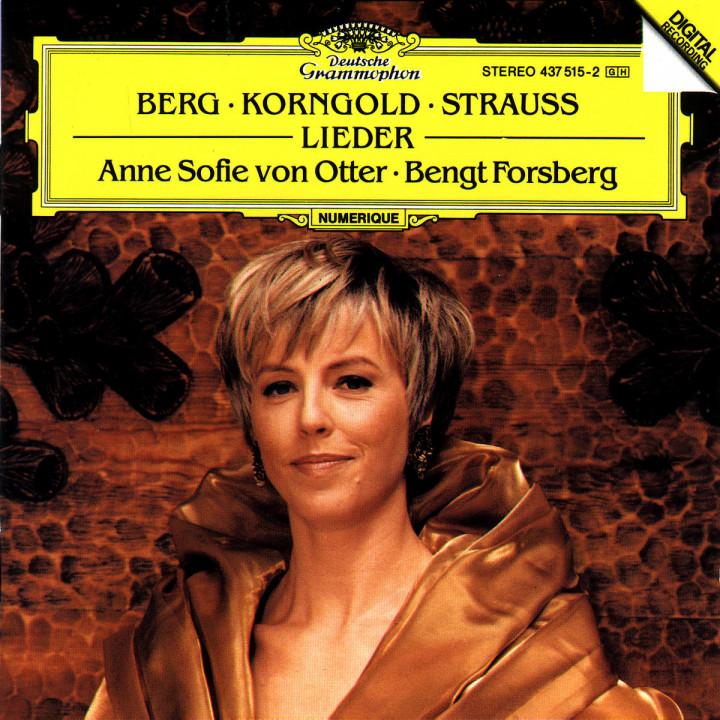 Berg / Korngold / R. Strauss: Lieder 0028943751524
