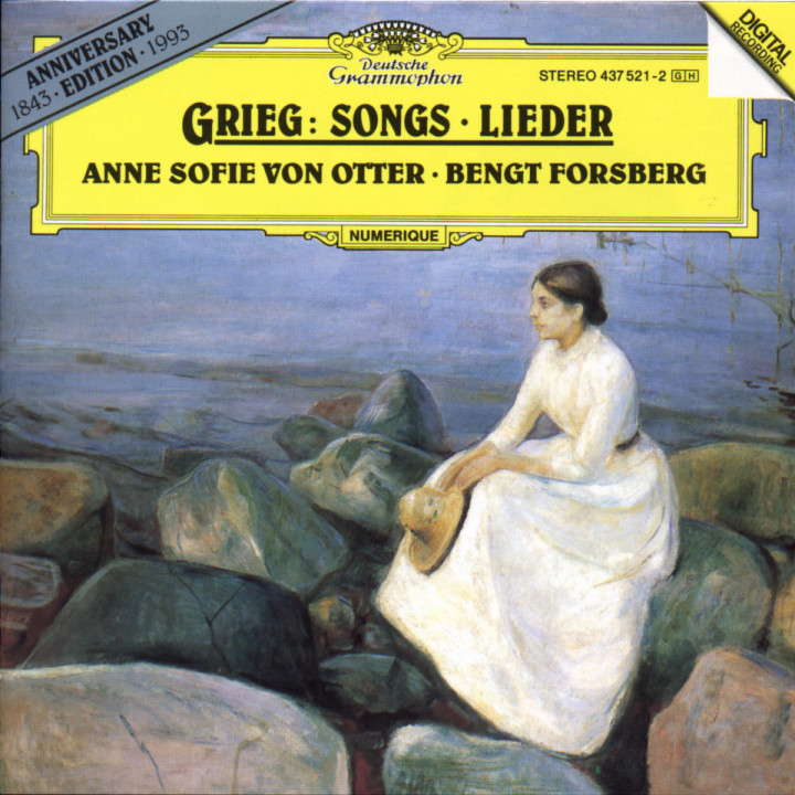Grieg: Songs 0028943752123