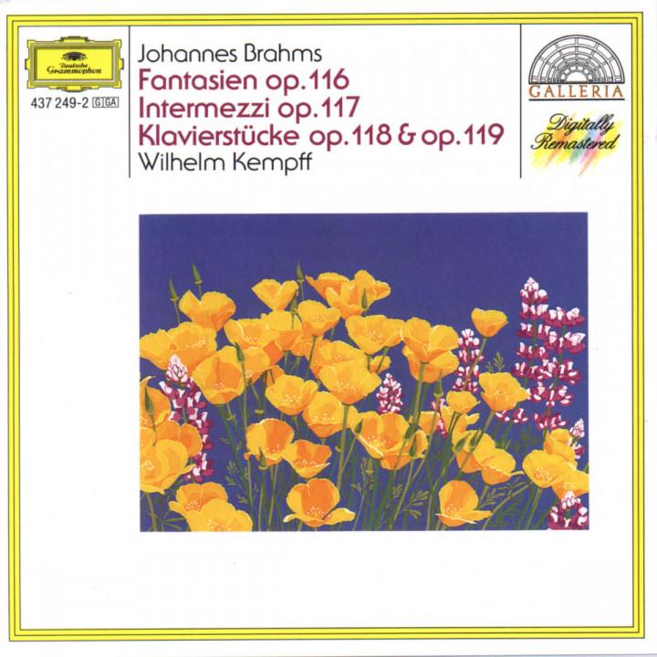Fantasien op. 116; Intermezzi op. 117; Klavierstücke op. 118 & 119 0028943724920