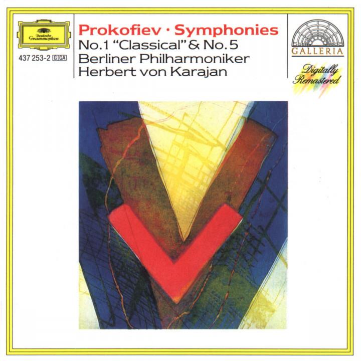 """Prokofiev: Symphonies Nos.1 """"Classical"""" & 5 0028943725323"""