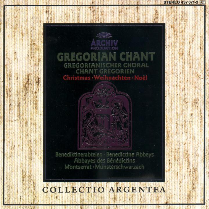 GREGORIAN CHORAL 0028943707123