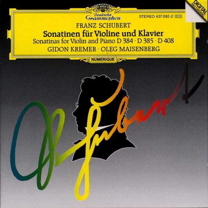 Sonatinen für Violine und Klavier D 384; D 385; D 408 0028943709228