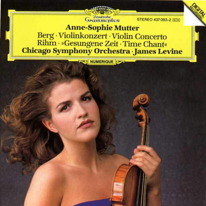 Berg: Violin Concerto / Rihm: Time Chant 0028943709321