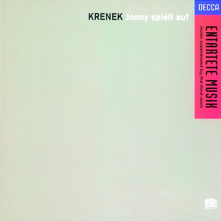 Ernst Krenek: Jonny Spielt Auf 0028943663126