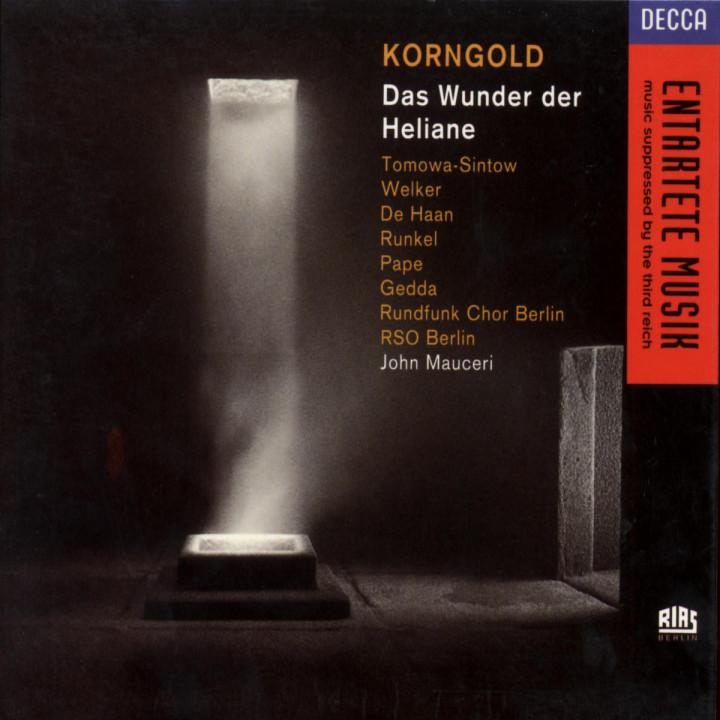 Erich Wolfgang Korngold: Das Wunder der Heliane 0028943663621