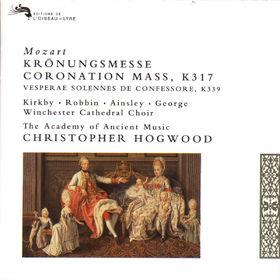 Wolfgang Amadeus Mozart, Kröningsmesse, Vesperae KV 339, 00028943658522
