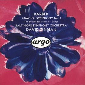 Samuel Barber, Barber: Adagio, Symphony No.1 etc., 00028943628822