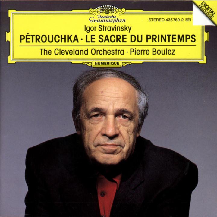 Stravinsky: Petrouchka; Le Sacre du Printemps 0028943576925