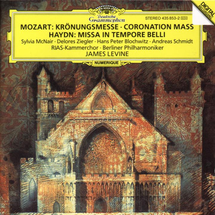 "Mozart: Mass in C K317 ""Coronation Mass"" / Haydn: Missa in tempore belli 0028943585329"