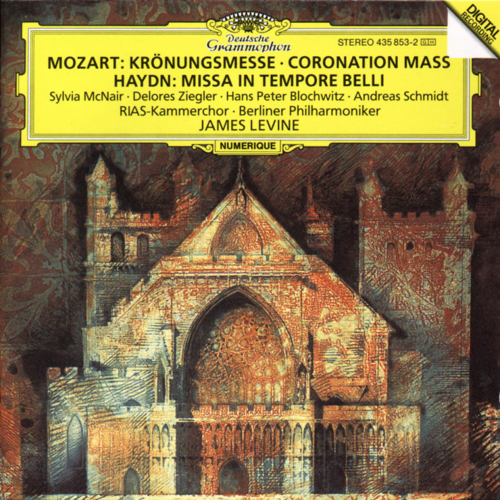 "Mozart: Mass in C K317 ""Coronation Mass"" / Haydn: Missa in tempore belli 0028943585329"