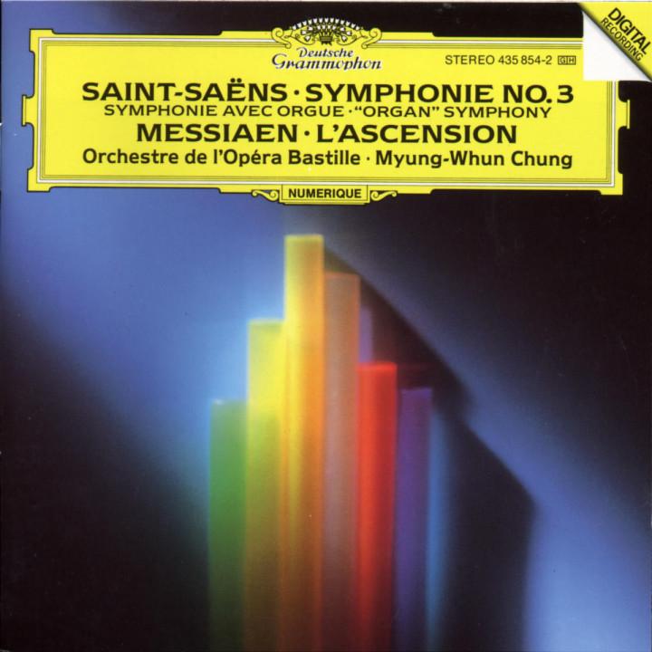Sinfonie Nr. 3 c-moll op. 78 avec orgue; L'ascension (Christi Himmelfahrt) 0028943585422