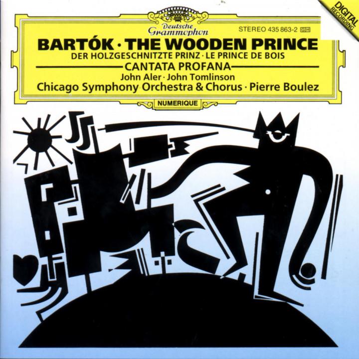 Der holzgeschnitzte Prinz; Cantata Profana 0028943586320