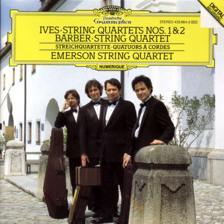 Ives: String Quartets Nos. 1 & 2 / Barber: String Quartet 0028943586423