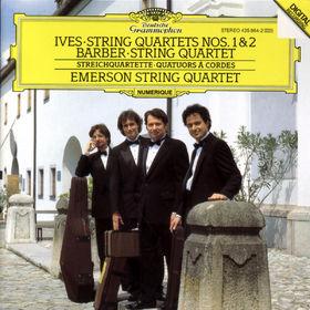 Samuel Barber, Streichquartette, 00028943586429