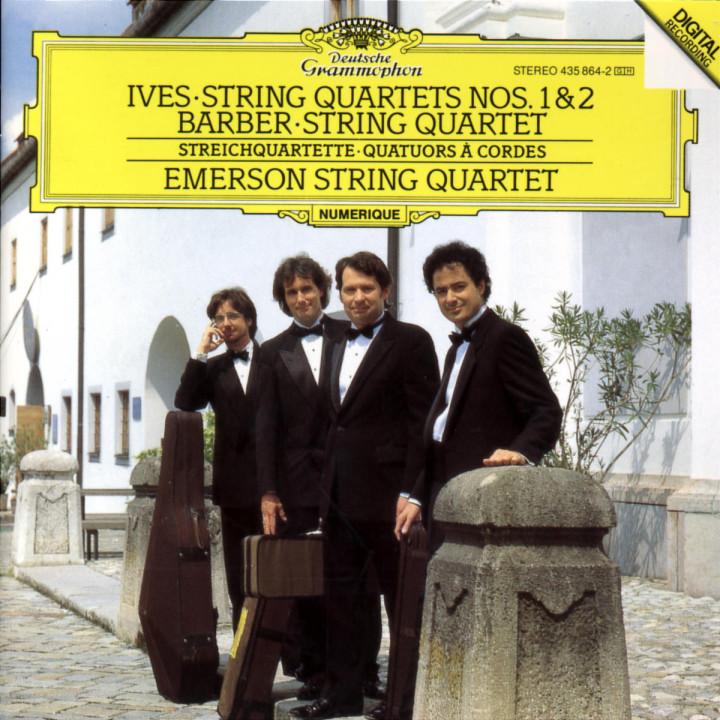 Ives: String Quartets Nos. 1 & 2 / Barber: String Quartet 0028943586423