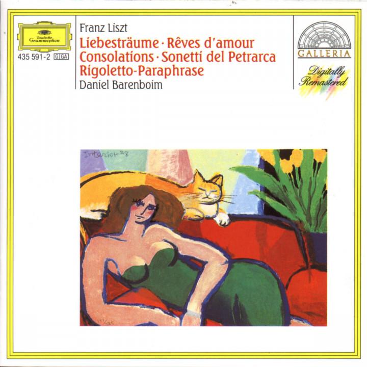 Liebesträume; Consolations; Petrarca-Sonette; Rigoletto-Paraphrase 0028943559128