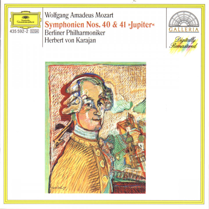 Mozart: Symphonies Nos.40 & 41 0028943559221
