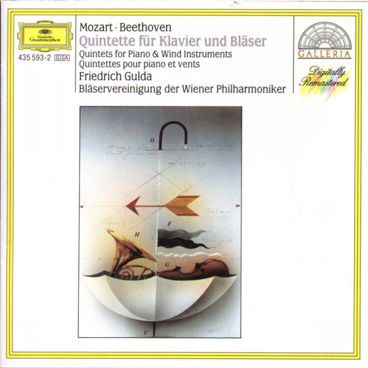 Mozart / Beethoven: Quintette 0028943559324