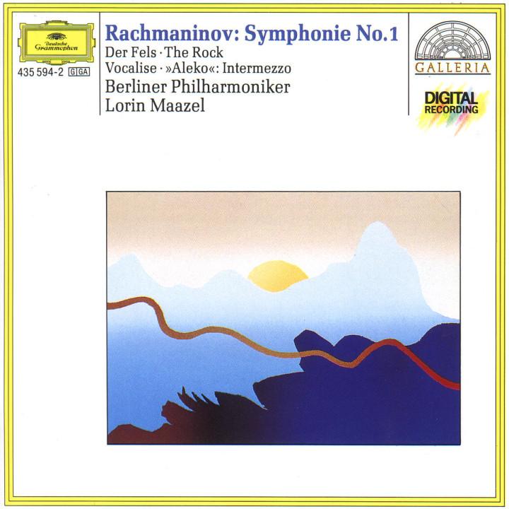 Der Fels op. 7 (Fantasie für Orchester); Sinfonie Nr. 1 d-moll op. 13; Intermezzo; Vocalise op. 34 0028943559427