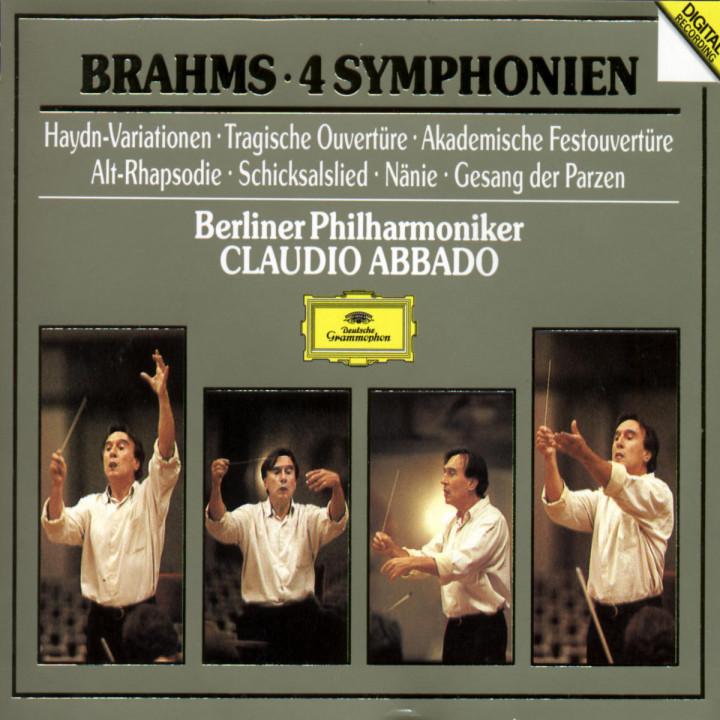 Brahms: The Symphonies/Academic Festival Overture etc. 0028943568326