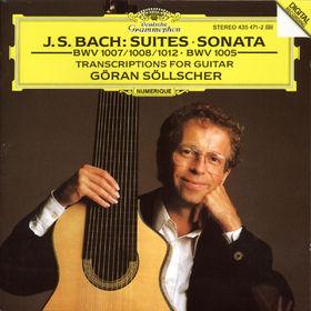 Johann Sebastian Bach, Transkriptionen für Gitarre, 00028943547123