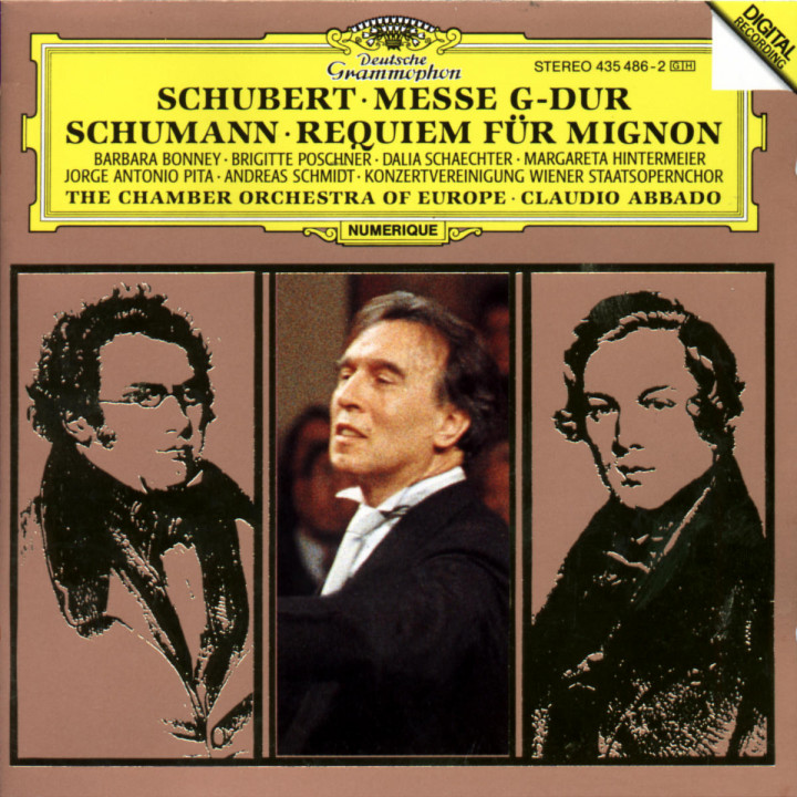 Messe D 167; Requiem für Mignon 0028943548629