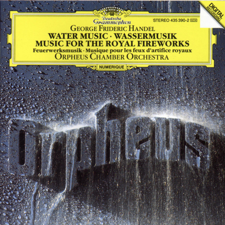 Handel: Water Music; Music for the Royal Fireworks 0028943539029