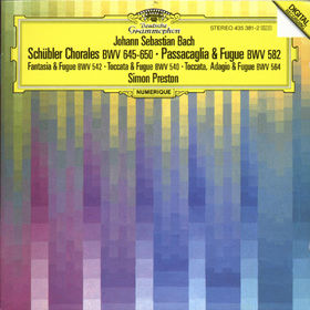 Johann Sebastian Bach, Choräle, Passacaglia, 00028943538121