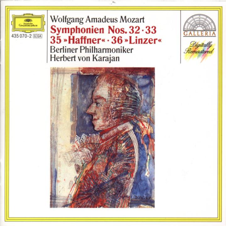 """Sinfonien Nr. 32 G-dur; Nr. 33 B-dur; Nr. 35 D-dur """"Haffner""""; Nr. 36 C-dur """"Linzer"""" 0028943507028"""