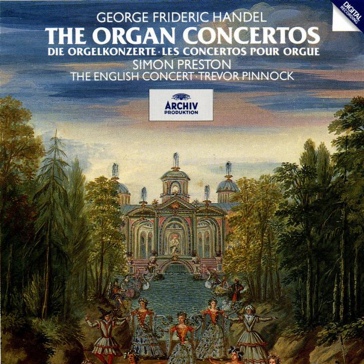 Die Orgelkonzerte 0028943503725