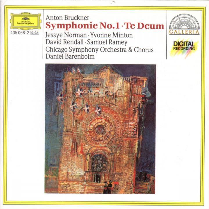 Bruckner: Symphony No.1; Te Deum 0028943506821
