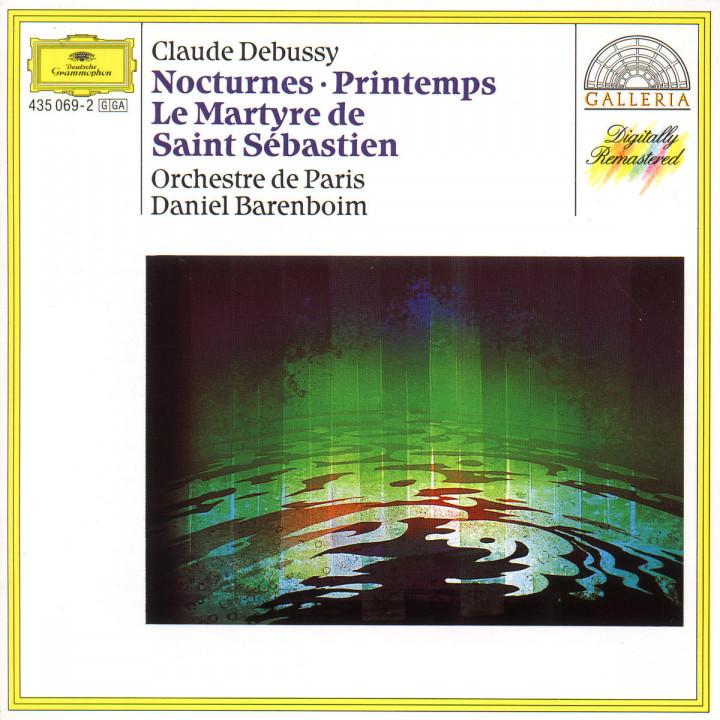Le Martyre de Saint Sébastien; Fanfares Nr. 1-2; Nocturnes Nr. 1-3 0028943506924