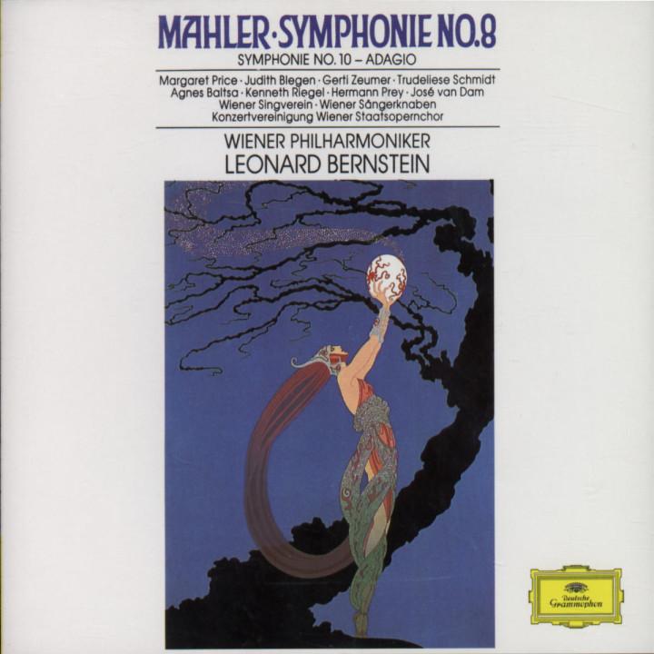 """Sinfonien Nr. 8 Es-dur """"Sinfonie der Tausend"""" & Nr. 10 0028943510220"""