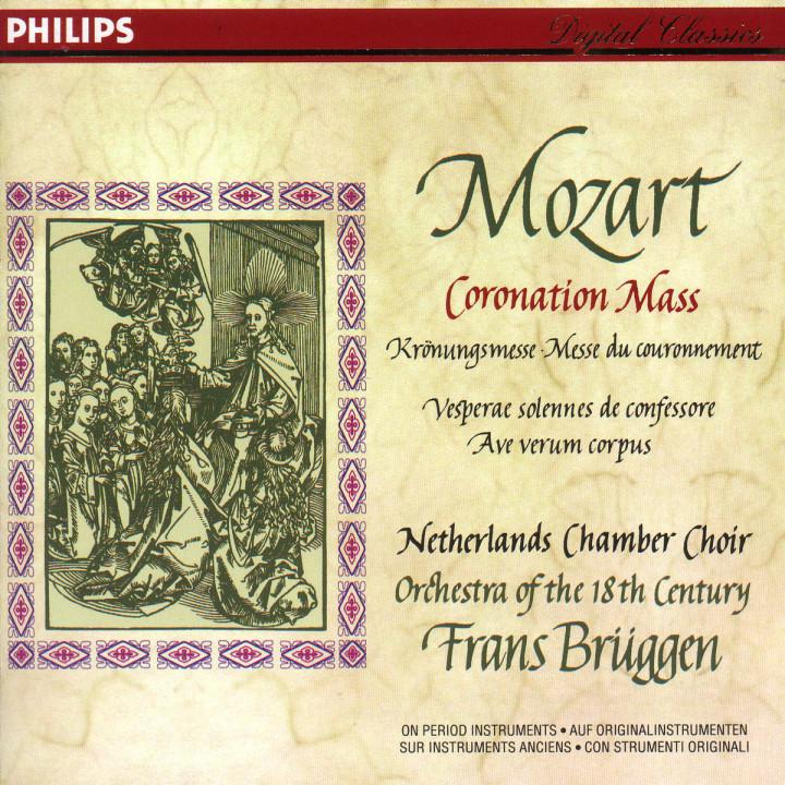 """Mozart: Missa in C """"Coronation Mass""""; Vesperae solennes de confessore; Ave verum corpus 0028943479927"""