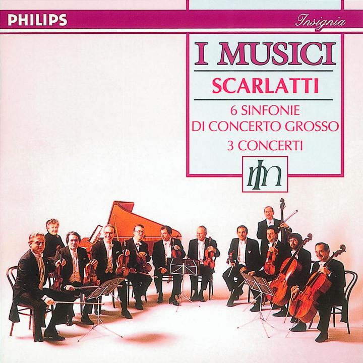 Scarlatti, Alessandro: 6 Sinfonie di Concerto Grosso/Flute Concertos Nos.1 - 3 0028943416029