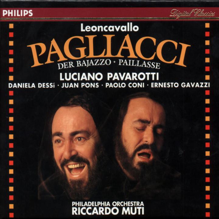 Leoncavallo: I Pagliacci 0028943413129
