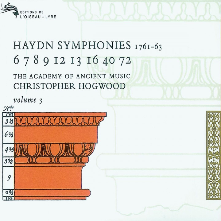 Haydn: Symphonies Vol.3 (3 CDs) 0028943366126