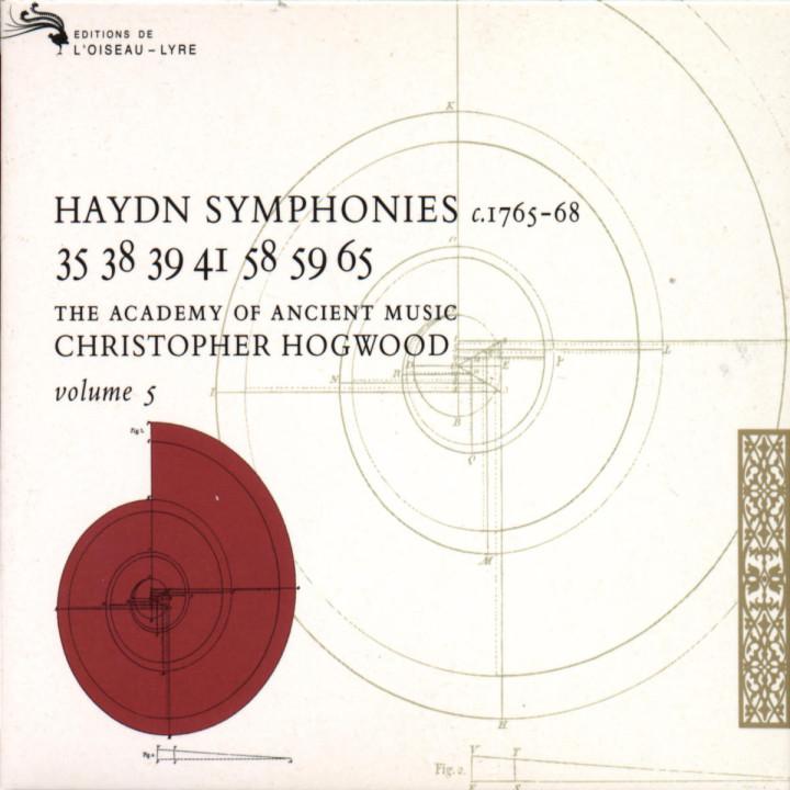 Haydn: Symphonies Vol.5 0028943301226