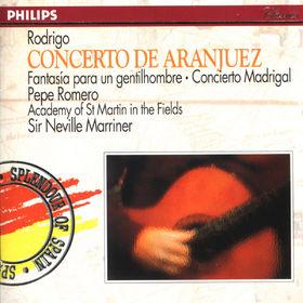 Pepe Romero, Rodrigo: Concierto de Aranjuez, Fantasía para un gentilhombre, Concierto Madrigal, 00028943282826