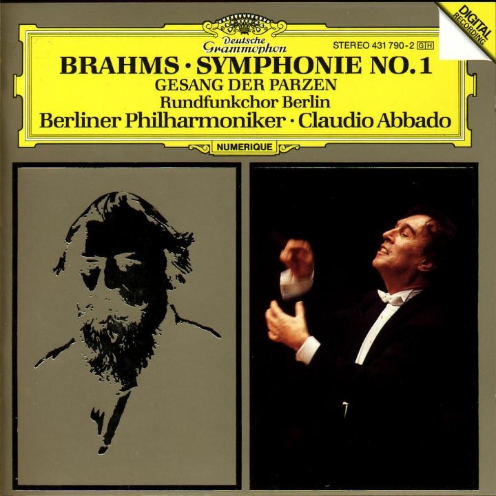 Brahms: Symphony No.1; Gesang der Parzen 0028943179027