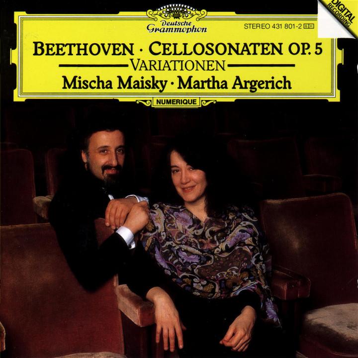 Cellosonaten op. 5; Variationen 0028943180124