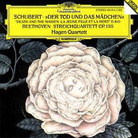 Ludwig van Beethoven, Der Tod und das Mädchen D 810; Streichquartett op. 135, 00028943181426