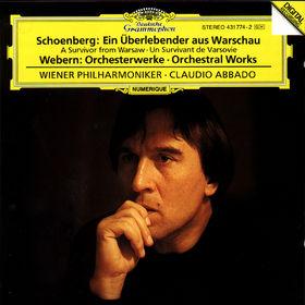 Anton Webern, Ein Überlebender aus Warschau, Orchesterwerke, 00028943177429