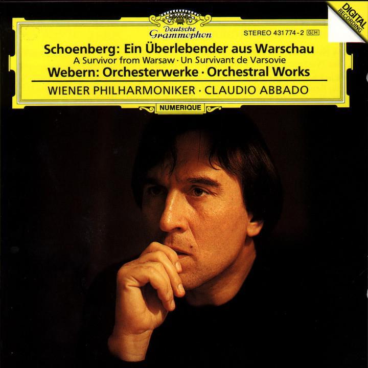 Schoenberg: A Survivor from Warsaw op.46 / Webern: Orchestral Works 0028943177427