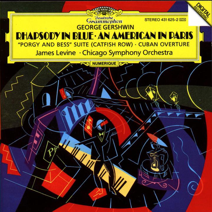 Gershwin: Rhapsody In Blue; An American in Paris 0028943162522