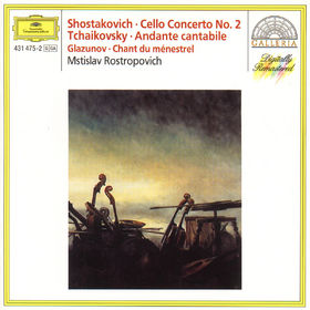 Peter Tschaikowsky, Andante cantabile für Violoncello und Streicher op. posth.; Cellokonzert Nr. 2 G-dur op. 126, 00028943147521