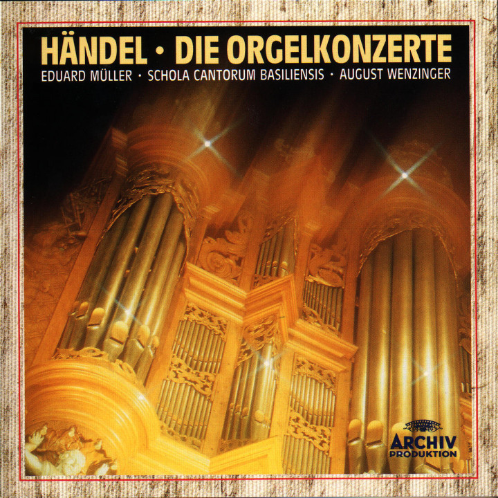 Die Orgelkonzerte 0028943133524