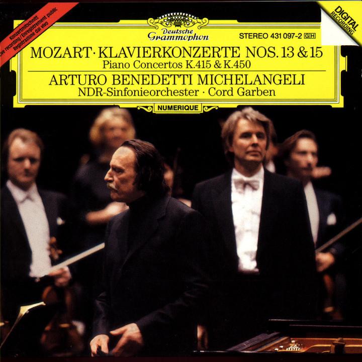 Mozart: Piano Concertos No.13 KV 415 & No.15 KV 450 0028943109727